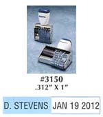 DL1010-56 Your Imprint & Dater Stamp - Non-Self-Inking