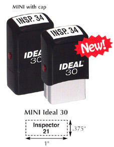 DL30 Mini Self-Inking Stamp
