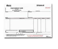 BBL321 Freight Bill - Bill of Lading, California Version - Carbonless, Snap-A-Part