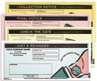 CMCC574 Collection Forms - Carbonless, Snap-A-Part