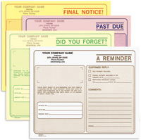 CMCC575 Collection Memo Form - Carbonless, Snap-A-Part