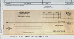 WCKD5TW - TOP WRITE DISBURSEMENT ONE-WRITE CHECK