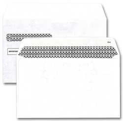 DEL91580  Envelope for 4-up style W-2 Blank Tax Form